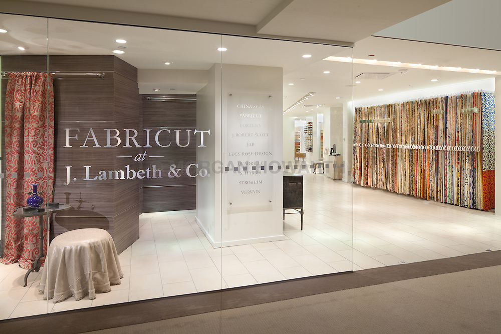 Fabricut showroom at J Lambeth at Washington DC Design Center