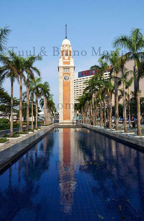 Chine, Hong Kong, Kowloon, Tsim Sha Tsui, Clock Tower // China, Hong Kong, Kowloon, Tsim Sha Tsui, Clock Tower