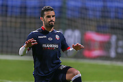 Bolton Wanderers defender Jose Manuel Casado  during the Sky Bet Championship match between Bolton Wanderers and Brentford at the Macron Stadium, Bolton, England on 30 November 2015. Photo by Simon Davies.
