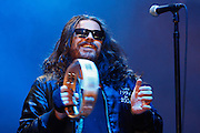 Ian Astbury of The Cult performs live on the Big Top stage during day two of the Isle of Wight Festival 2011 at Seaclose Park on June 11, 2011 in Newport, Isle of Wight.  (Photo by Simone Joyner)