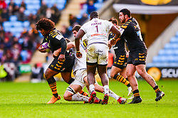 Ashley Johnson of Wasps - Mandatory by-line: Dougie Allward/JMP - 18/01/2020 - RUGBY - Ricoh Arena - Coventry, England - Wasps v Bordeaux-Begles - European Rugby Challenge Cup