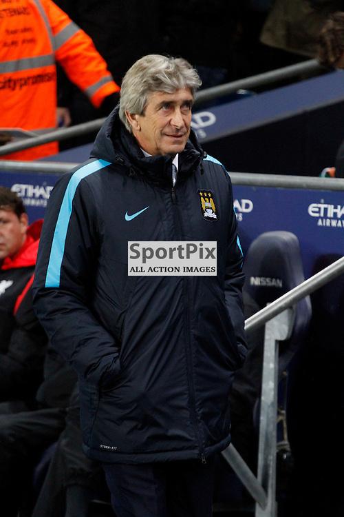 Manuel Pellegrini during Manchester City vs Liverpool, Barclays Premier League, Saturday 21st November 2015, Etihad Stadium, Manchester