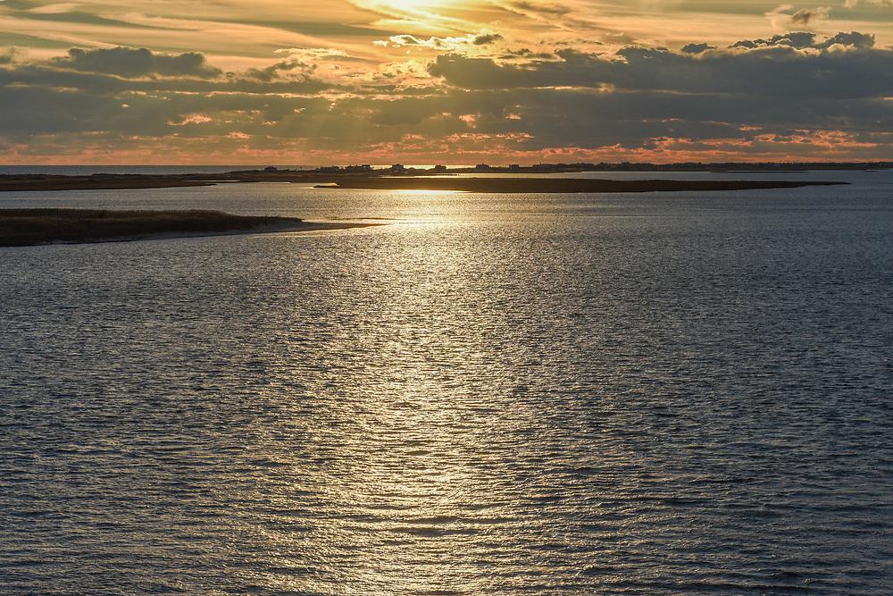 Sunset Shinnecock Bay, HamptonBays, NY
