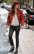 08.OCTOBER.2012. PARIS<br /> <br /> JESSICA BIEL IS SPOTTED LEAVING HER HOTEL TO GO TO A PHOTO SHOOT AT CAFE ROUQUET, SHE THEN GOES SHOPPING AT FENDI ON AVENUE MONTAIGNE IN PARIS.<br /> <br /> BYLINE: EDBIMAGEARCHIVE.CO.UK<br /> <br /> *THIS IMAGE IS STRICTLY FOR UK NEWSPAPERS AND MAGAZINES ONLY*<br /> *FOR WORLD WIDE SALES AND WEB USE PLEASE CONTACT EDBIMAGEARCHIVE - 0208 954 5968*