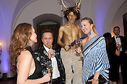 mira anafina; daniel zakharov; yulia obukhova, The Surrealist Ball in aid of the NSPCC. Hosted by Lucy Yeomans and Harry Blain. Banqueting House. Whitehall. 17 March 2011. -DO NOT ARCHIVE-© Copyright Photograph by Dafydd Jones. 248 Clapham Rd. London SW9 0PZ. Tel 0207 820 0771. www.dafjones.com.