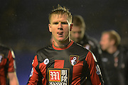 Bournemouth midfielder Matt Ritchie during the The FA Cup third round match between Birmingham City and Bournemouth at St Andrews, Birmingham, England on 9 January 2016. Photo by Alan Franklin.