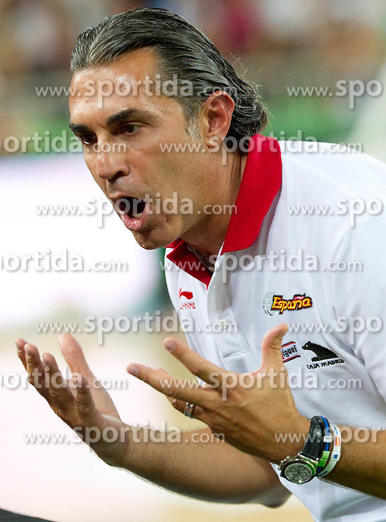 Coach of Spain Sergio Scariolo