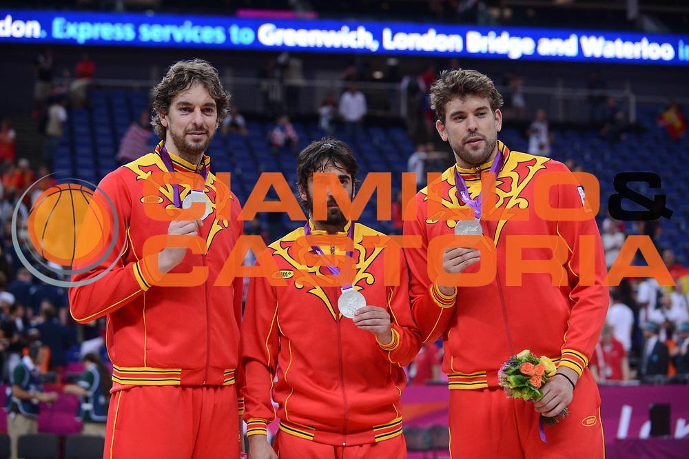 DESCRIZIONE : London Londra Olympic Games Olimpiadi 2012 Men Gold Medal Final Game Usa Spain Usa Spagna<br /> GIOCATORE : Pau Marc Gasol Navarro<br /> CATEGORIA :<br /> SQUADRA : Spagna Spain<br /> EVENTO : Olympic Games Olimpiadi 2012<br /> GARA : Usa Spain Usa Spagna<br /> DATA : 12/08/2012<br /> SPORT : Pallacanestro <br /> AUTORE : Agenzia Ciamillo-Castoria/M.Marchi<br /> Galleria : London Londra Olympic Games Olimpiadi 2012 <br /> Fotonotizia : London Londra Olympic Games Olimpiadi 2012 Men Gold Medal Final Usa Spagna Usa Spain<br /> Predefinita :