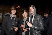 MATTHEW GREER; CHARLIE COSSER; MIKE KRUGER, The Tatler Little Black Book party. Tramp. 40 Jermyn St. London SW1 *** Local Caption *** -DO NOT ARCHIVE-© Copyright Photograph by Dafydd Jones. 248 Clapham Rd. London SW9 0PZ. Tel 0207 820 0771. www.dafjones.com.
