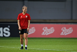 NEWPORT, WALES - Monday, September 2, 2019: Wales' Megan Wynne during a training session at Rodney Parade ahead of the UEFA Women Euro 2021 Qualifying Group C match against Northern Ireland. (Pic by David Rawcliffe/Propaganda)
