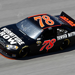 April 17, 2011; Talladega, AL, USA; NASCAR Sprint Cup Series driver Regan Smith (78) during the Aarons 499 at Talladega Superspeedway.   Mandatory Credit: Derick E. Hingle