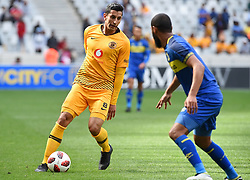 Cape Town-180915- Kaizer Chiefs Striker Leonardo Castro was sabstituted early in the game because of injury  in the ABSA Premiership clash against Cape Town City at the cape Town Stadium.Chiefs are still looking for their first win of the season,so far they have maneged 3 draws and a loss..Photographs:Phando Jikelo/African News Agency/ANA