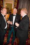GARY BRASS; SIR WILLIAM PURVISS; GARETH ROBERTSON, The National Trust for Scotland Mansion House Dinner. Mansion House, London. 16 October 2013