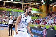 KOPER EUROBASKET 2013 5 SETTEMBRE 2013<br /> NAZIONALE ITALIANA MASCHILE<br /> ITALIA-TURCHIA<br /> NELLA FOTO: GIUSEPPE POETA<br /> FOTO CIAMILLO