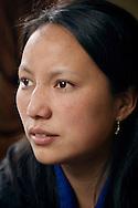Woman<br /> Portrait of a woman in Bhutan.