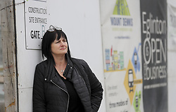 October 3, 2018 - Toronto, ON, Canada - TORONTO, ON - October 3    Laura Alderson is the co-ordinator of the Mount Dennis BIA. For ward profile on York South-Weston, one of the wards where two incumbents are squaring off -- Frances Nunziata and Frank Di Giorgio.  She is seen in front of the construction of the new transportation construction..October 3, 2018 Richard Lautens/Toronto Star (Credit Image: © Richard Lautens/The Toronto Star via ZUMA Wire)