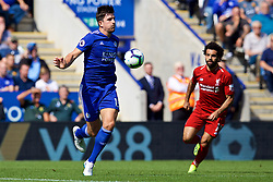 LEICESTER, ENGLAND - Saturday, September 1, 2018: Leicester City's Harry Maguire during the FA Premier League match between Leicester City and Liverpool at the King Power Stadium. (Pic by David Rawcliffe/Propaganda)