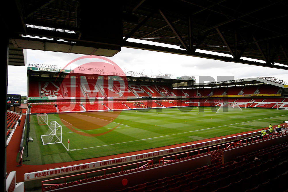 General view of Nottingham Forest's stadium, the City Ground before kick-off<br /> <br />  - Mandatory by-line: Jack Phillips/JMP - 25/07/2015 - SPORT - FOOTBALL - Nottingham - The City Ground - Nottingham Forest v Swansea - Pre-Season Friendly
