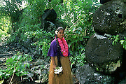 Lelu Ruins, Kosrae, Federated States of Micronesia, Micronesia, (editorial use only- no model release)<br />