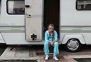 7th of September 2010, Travellers' eviction by bailiffs company Constant & Co, in Hovefields, Basildon, Essex. 7 Irish Travellers families were evicted from their own lands.