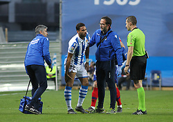 March 3, 2019 - San Sebastian, Guipuzcoa, Spain - Willian Jose of Real Sociedad injuried during La Liga Spanish championship, , football match between Real Sociedad and Atletico de Madrid , March 03th, in Anoeta Stadium in San Sebastian, Spain. (Credit Image: © AFP7 via ZUMA Wire)