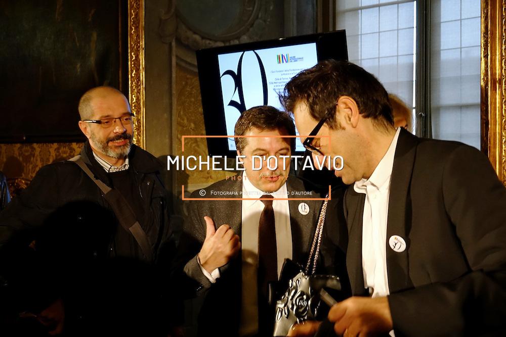 Nicola Lagioia, direttore del Salone del Libro di Torino  21 novembre 2016.