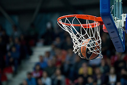 Ball during Euroleague basketball match in 6th Round of TOP 16 between KK Cedevita Zagreb and Panathinaikos BSA Athens, on  Febrauary 4th, 2016, in Drazen Petrovic basketball hall, Zagreb, Croatia. Photo by Matic Klansek Velej / Sportida