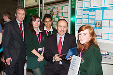 Micheál Martin TD, at the Young Scientist.