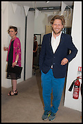 HENRY BRUDENELL BRUCE, Matt's Gallery 35th birthday fundraising supper.  42-44 Copperfield Road, London E3 4RR. 12 June 2014.