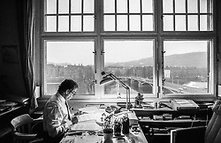 Engelsovo n&aacute;břež&iacute;, Prague, 29 December 1989<br />