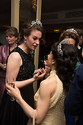 MARINA COBBE;  LADY HAMILTON OF DALZELL, The Royal Caledonian Ball 2015. Grosvenor House. Park Lane, London. 1 May 2015.