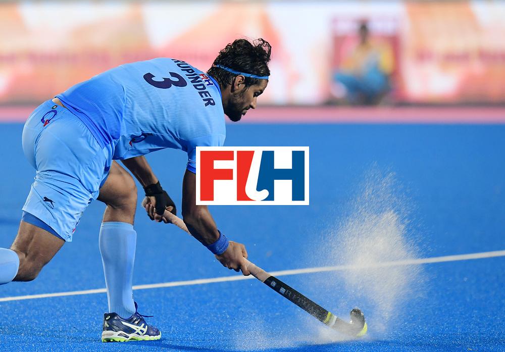 Odisha Men's Hockey World League Final Bhubaneswar 2017<br /> Match id:10<br /> India v Germany<br /> Foto: Rupinder Pal Singh (Ind) <br /> WORLDSPORTPICS COPYRIGHT FRANK UIJLENBROEK