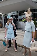 LADY HENRIETTA STANLEY; EARL OF DERBY' ; THE COUNTESS OF DERBYInvestec Derby, Epsom. June 2 2018