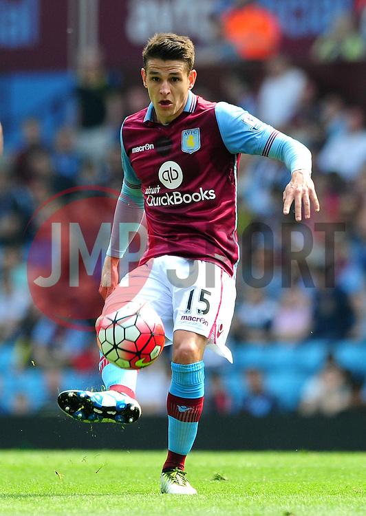 Ashley Westwood of Aston Villa - Mandatory by-line: Dougie Allward/JMP - 07/05/2016 - FOOTBALL - Villa Park - Birmingham, England - Aston Villa v Newcastle United - Barclays Premier League