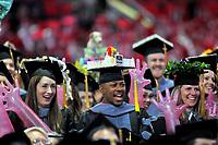 College of Veterinarian Medicine grads celebrate.