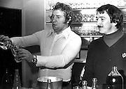 Kerry Tanner and Tane Norton, New Zealand All Blacks, 1970's. Photo: PHOTOSPORT/Peter Bush