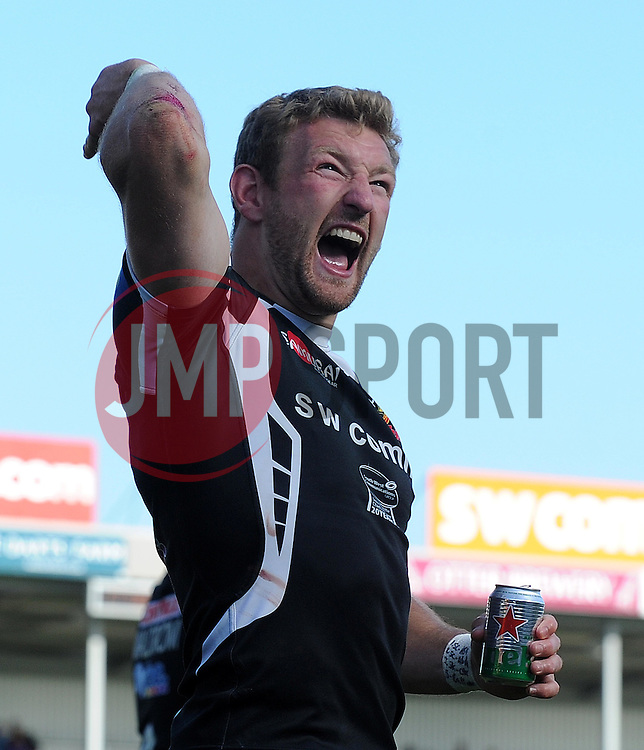 Exeter Chiefs Matt Jess Photo mandatory by-line: Harry Trump/JMP - Mobile: 07966 386802 - 16/05/15 - SPORT - RUGBY - Aviva Premiership - Exeter Chiefs v Sale Sharks - Sandy Park, Exeter, England.
