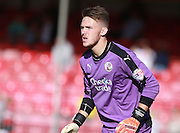 Crawley Town goalkeeper Freddie Woodman during the Sky Bet League 2 match between Crawley Town and Accrington Stanley at the Checkatrade.com Stadium, Crawley, England on 26 September 2015. Photo by Bennett Dean.