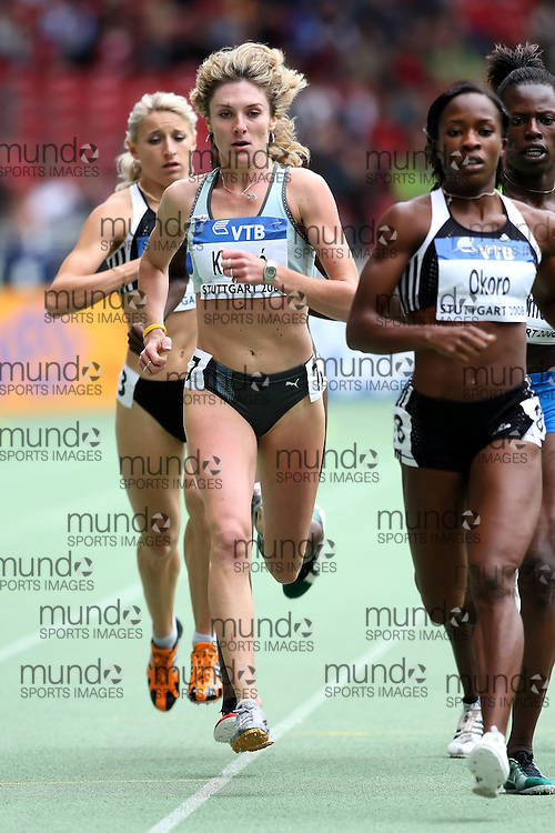 (Stuttgart, Germany---14 September 2008) Lucia Klocová of Slovakia finished fifth in the 800m at the 2008 IAAF World Athletics Final. [Copyright Sean W. Burges/Mundo Sport Images, 2008.]