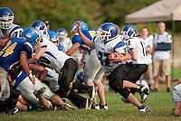 Varsity Football Gilford v Winnisquam September 24, 2011.