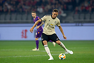 PERTH, AUSTRALIA - JULY 13: Manchester United midfielder Nemanja Matic (31) passes the ball during the International soccer match between Manchester United and Perth Glory on July 13, 2019 at Optus Stadium in Perth, Australia. (Photo by Speed Media/Icon Sportswire)