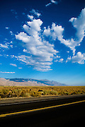 Highway 395, Eastern California, Aug 17, 2008.
