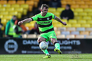 Forest Green Rovers Gavin Gunning(16) during the EFL Sky Bet League 2 match between Port Vale and Forest Green Rovers at Vale Park, Burslem, England on 23 March 2019.