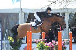 McIntosh, Samantha (NZL) Check In<br /> Redefin - Pferdefestival 2016<br /> © www.sportfotos-lafrentz.de