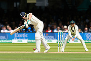 Jos Buttler of England gets a single run during the International Test Match 2019 match between England and Australia at Lord's Cricket Ground, St John's Wood, United Kingdom on 18 August 2019.