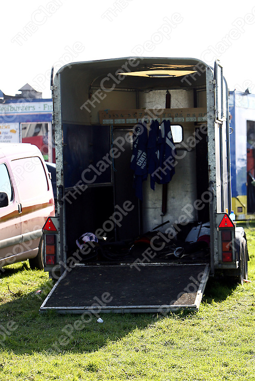 The weigh tent at the annual Lisdoonvarna races at the weekend.<br /> Photograph by Yvonne Vaughan