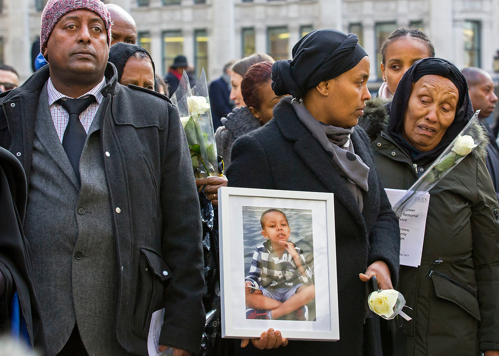 Grenfell memorial at St Paul's Cathedral 14 December 2017. Attended by the survivors and the bereaved of the Grenfell Tower fire. Also  joined by members of the royal family, faith leaders and the prime minister, marking six months since the catastrophe.Grenfell memorial at St Paul's Cathedral 14 December 2017. Attended by the survivors and the bereaved of the Grenfell Tower fire. Also  joined by members of the royal family, faith leaders and the prime minister, marking six months since the catastrophe.