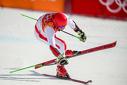 PYEONGCHANG-GUN, SOUTH KOREA - FEBRUARY 18: Marcel Hirscher of Austria winning a gold medal during the Alpine Skiing Men's Giant Slalom at Yongpyong Alpine Centre on February 18, 2018 in Pyeongchang-gun, South Korea. Photo by Ronald Hoogendoorn / Sportida