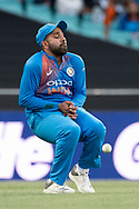 SYDNEY - NOVEMBER 25: Indian player Rohit Sharma drops a catch at the International Gillette T20 cricket match between Australia and India at The Sydney Cricket Ground in NSW on November 25, 2018. (Photo by Speed Media/Icon Sportswire)