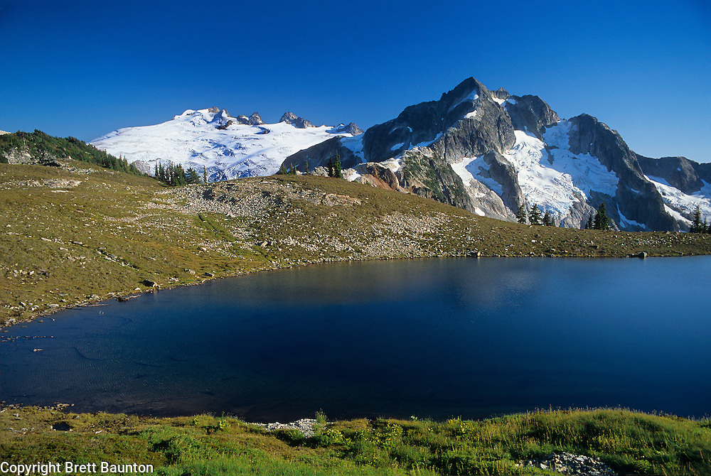 Mt. Challenger, Tapto Lakes, North Cascades National Park, WA